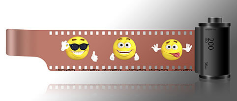 emoji, renkli iletişim, digital dünya