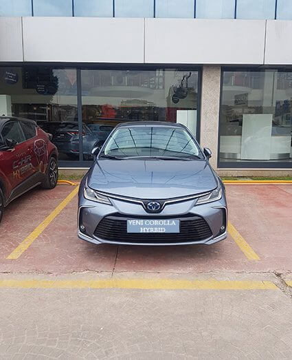Toyota Corolla Yeni Hybrid Modeli İle Sizlerle