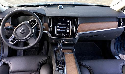 Volvo S90, test sürüşü