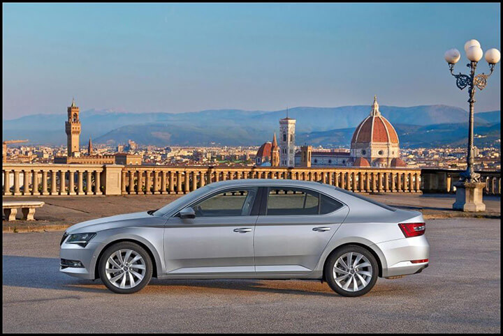 Yeni Skoda Superb,test sürüşü,otomobil