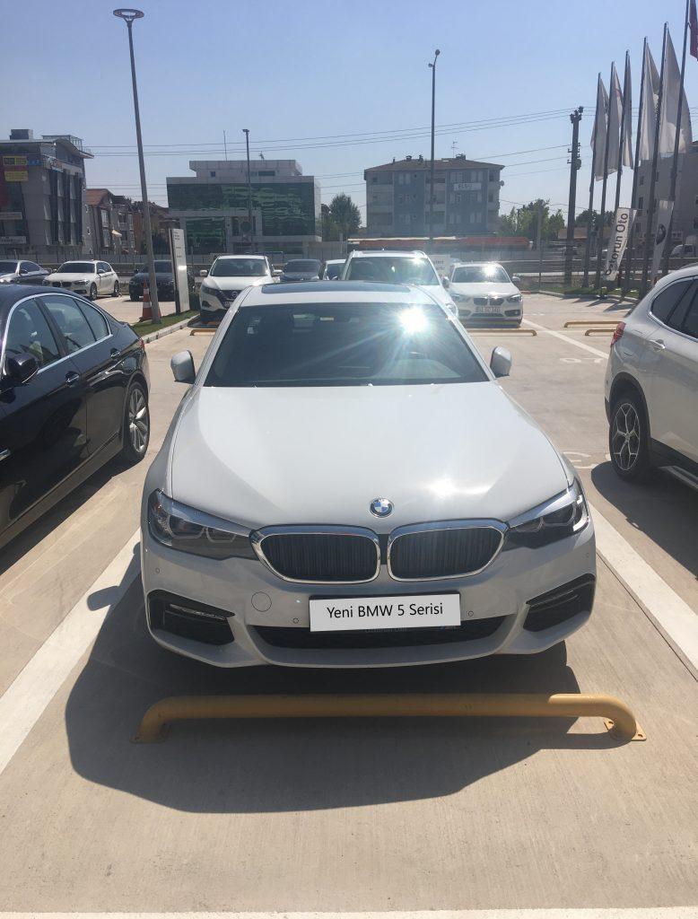 BMW Yeni BMW 5 Serisi Otomobil Test Sürüşü