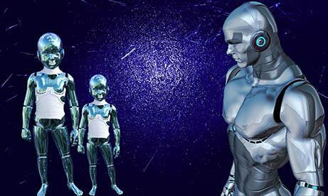 insansı robot, android robot, robot, teknoloji