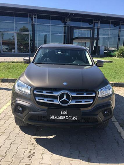 Yeni Mercedes X Class, SUV,pickup