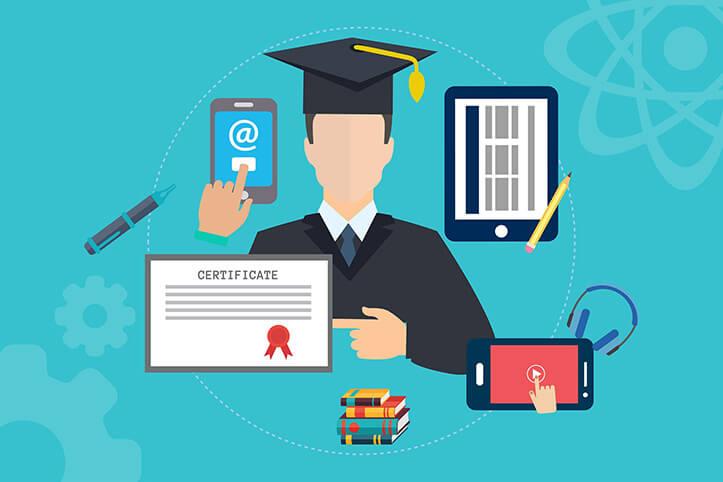online eğitim, sertifika