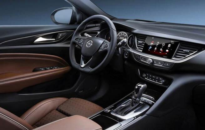 Yeni Opel Insignia,test sürüşü, iç tasarım