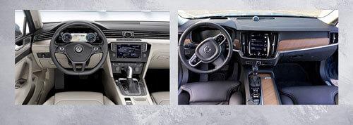 Volkswagen Passat ve Volvo S90 İç Tasarım