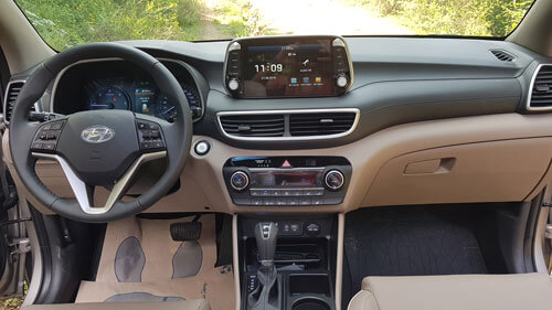 Hyundai Tucson iç tasarım