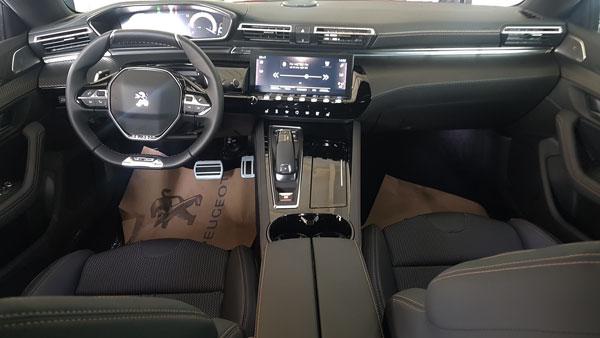 Peugeot 508 i Cockpit