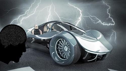 beyin gücüyle çalışan otomobil, beyin gücü