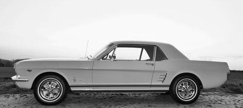 Ford Mustang, Bullitt, klasik otomobil
