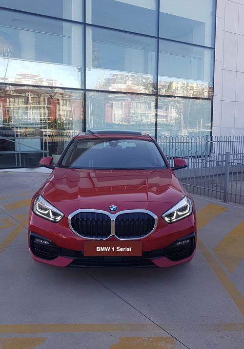 Yeni BMW 1 Serisi ön görünüm