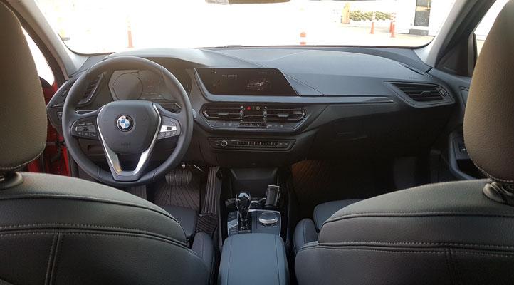 Yeni BMW 1 Serisi iç görünüm