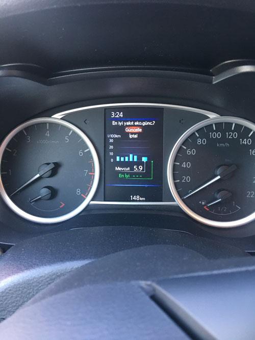 Yeni Nissan Micra yakıt tüketimi
