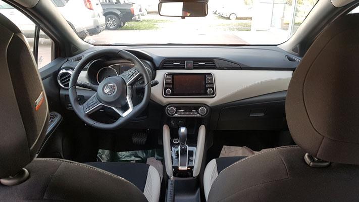 Yeni Nissan Micra iç görünüm