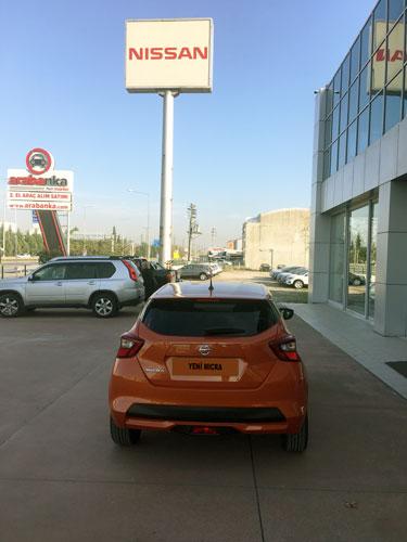 Yeni Nissan Micra arka görünüm