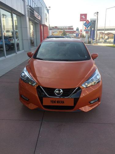 Yeni Nissan Micra ön görünüm