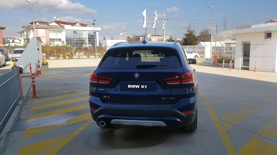 bmw x1 arka görünüş dış tasarım, bmw x1 test sürüşü 2019