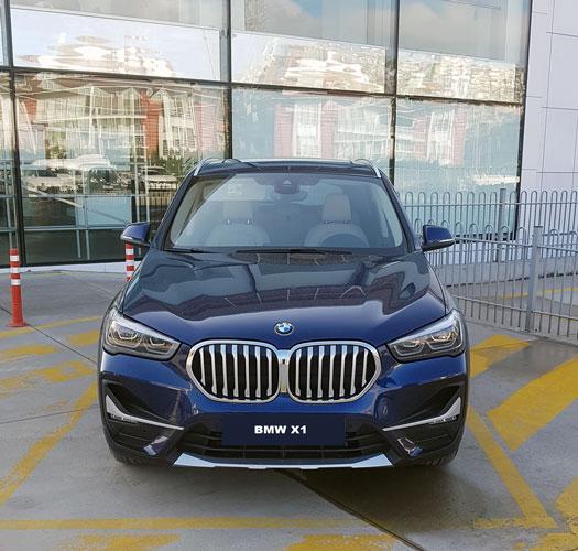 BMW X1 Dış Tasarım ön görünüş, bmw x1 test sürüşü 2019