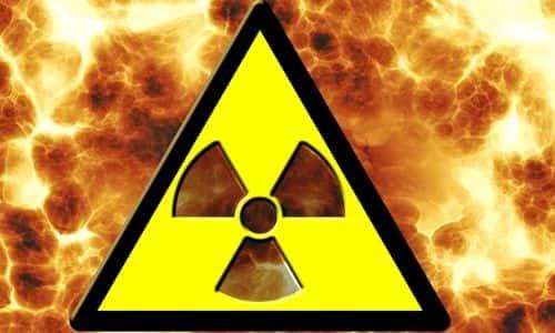 yangın, radyoaktivite