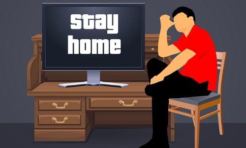 evde kal, stay home